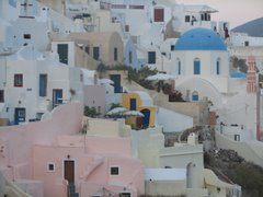 The colors of Oia, Santorini -