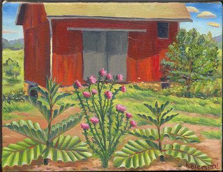 Barn...oil painting, 1991