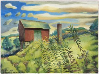 Barn...oil painting, 1996