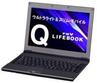 Fujitsu FMV-Q8230 con flash