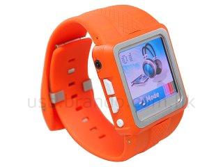 reloj con video