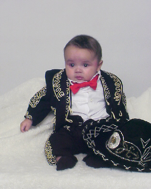 One evening before Austin was born... Deandra and I made our mind up that no matter what... Austinu0027s first Halloween costume would be a little mariachi.  sc 1 st  The Lopez Family Online & The Lopez Family Online: El Mariachi Loco