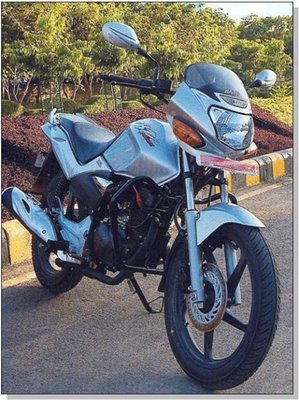 Hero Honda CBZ Xtreme front