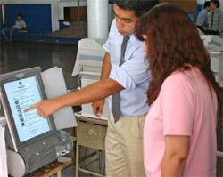 Voto electrónico - Foto: Télam
