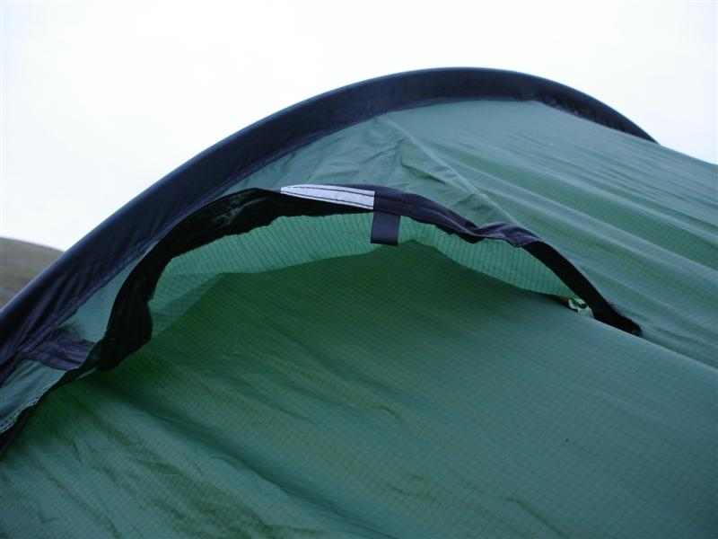 One of the vents is an integral part of the entrance of the outer tent. The degree of venting can easily be adjusted by the size of the opening. & AktoMan: Tips 5: Pitching your Tent (Ventilation)