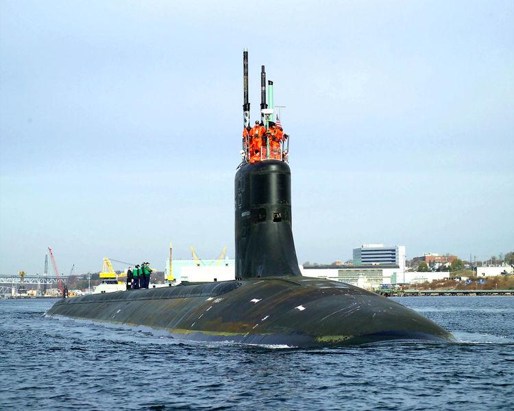 подводные лодки типа сивулф