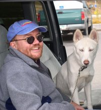 Me and My Loyal Husky Misty