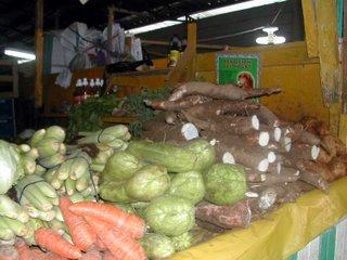 Tela market veggies