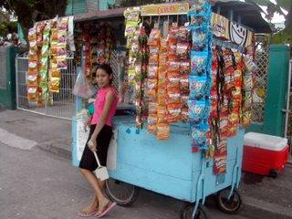 Tela street vendor