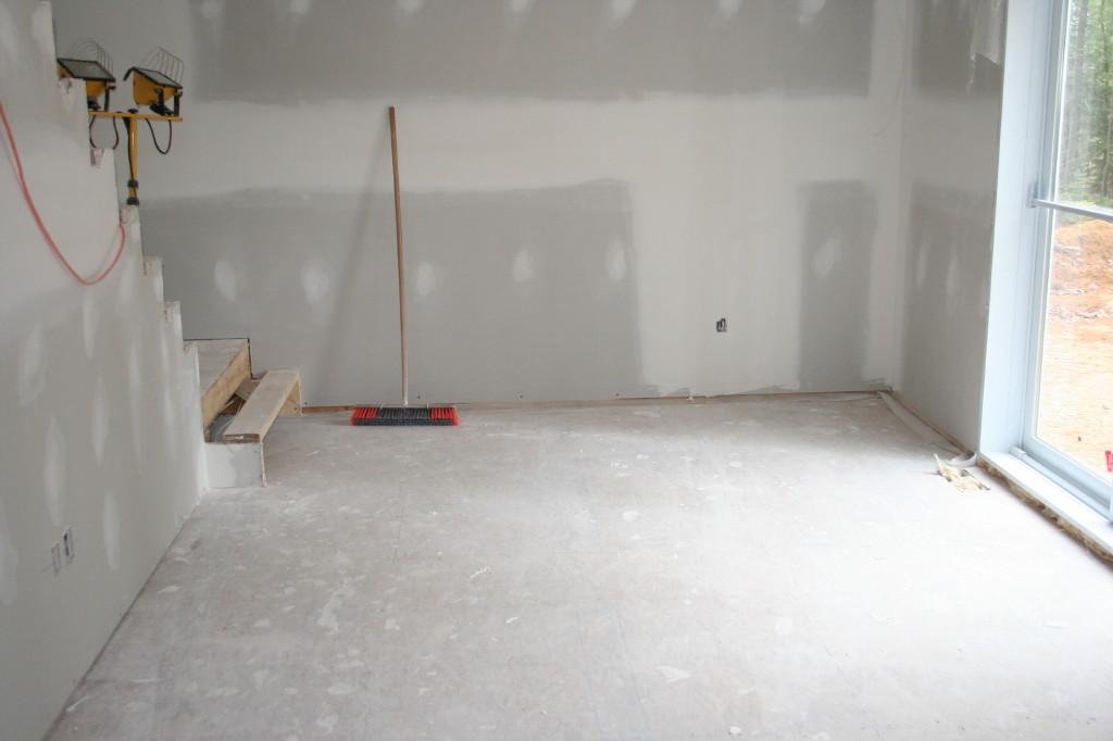 poussiere de platre construction maison b ton arm. Black Bedroom Furniture Sets. Home Design Ideas