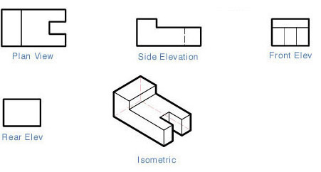 Isometric View Drawing 8 is a Normal View 1 Point