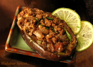 Stuffed Eggplant
