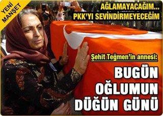 Jovem tenente morto numa emboscada do PKK
