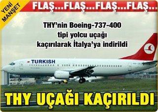 Desvio de avião da Turkish Airlines não foi protesto contra a visita papal