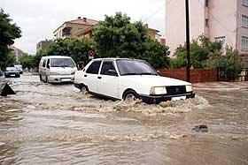 Chuvas torrenciais na Turquia