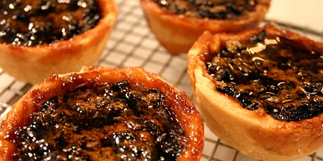 maple butter tarts with currants from food tv recipe photo