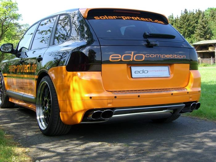 Edo Competition Porsche Cayenne Turbo ~ SUV buster