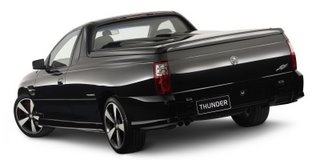 Holden SS Thunder Ute: for those about to rock