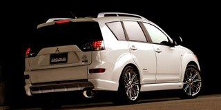 2007 Mitsubishi Outlander tuned by DAMD