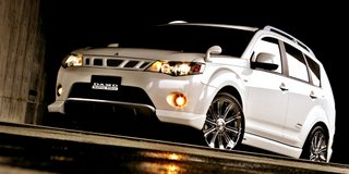2007 Mitsubishi Outlander tuned by DAMD