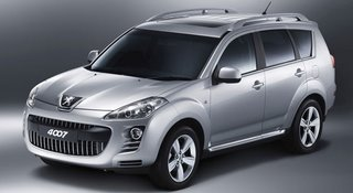 Mitsubishi Outlander gives birth to the Citroen C-Crosser and Peugeot 4007 (Photo)