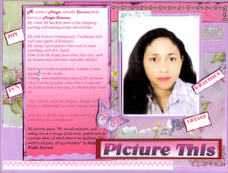 A Page of Me- Margie- Title Picture This