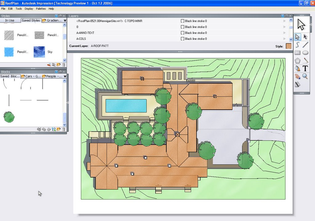Revit beginners autodesk impression for Site plan rendering software