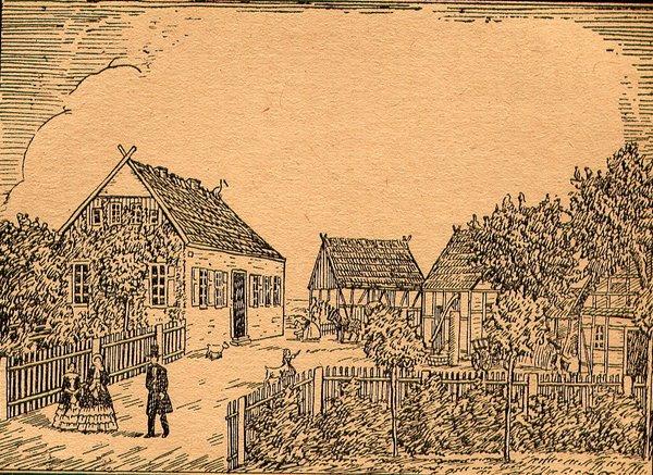 Giesensdorf Pfarrgehöft 1720 bis 1869
