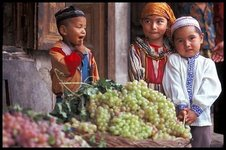 Xinjiang kids, China