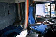 Inside Truck (hitch hike 2004)