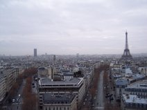"Eiffel Tower as seen from L""Arc de Triomphe"