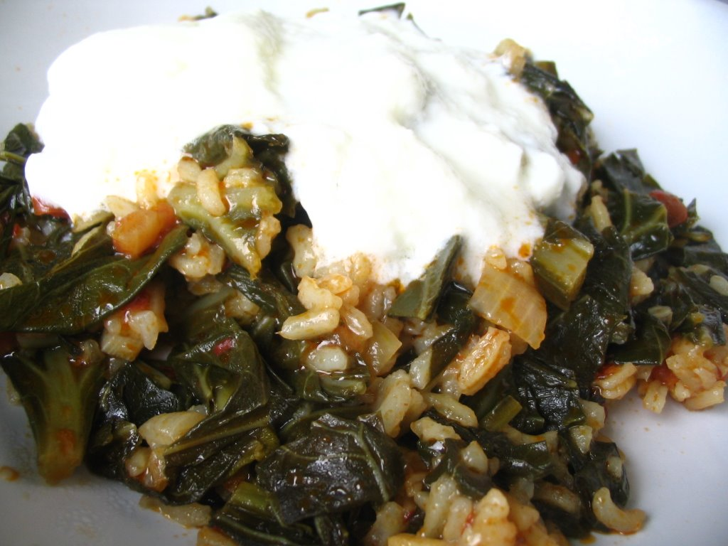 Almost turkish recipes collard greens alaturka for Alaturka turkish cuisine