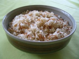 Although this works for almost any kind of rice Rice à la Turque with Vermicelli (Tel Şehriyeli Pilav)