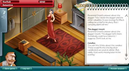 play cluedo online free game