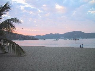Sunrise over Zihuatanejo Bay