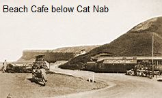 Beach Cafe below Cat Nab