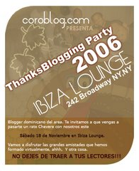 ThanksBlogging Party 2006