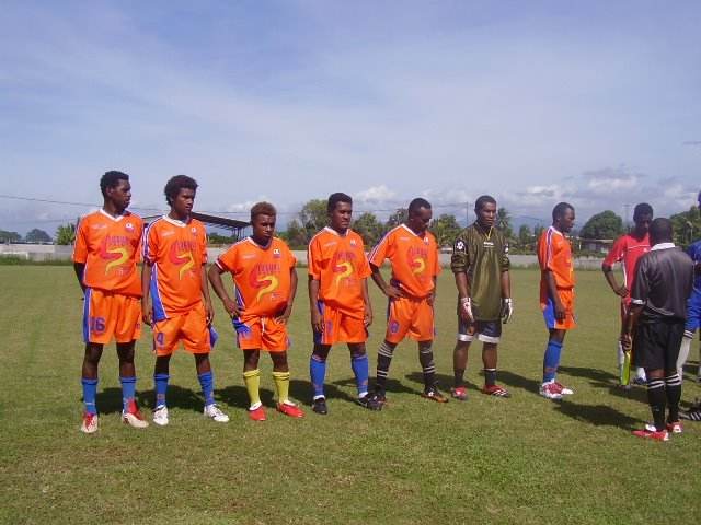 SFC - SEVENS TEAM LINE OUT AGAINST KGVI BLUE