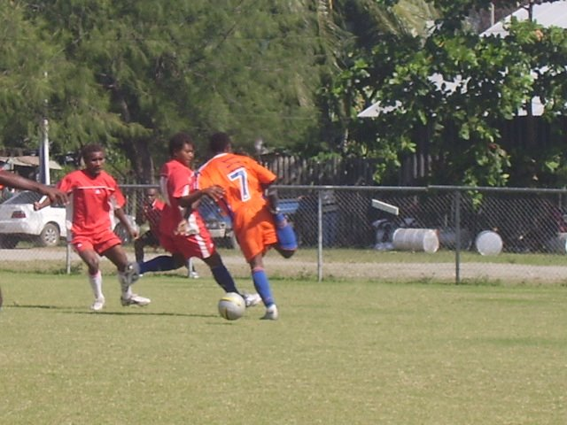 SFC Team 2's Apollos On Attack Against KGVI Blue