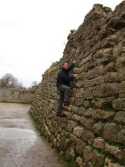 Climbing the walls of Troy