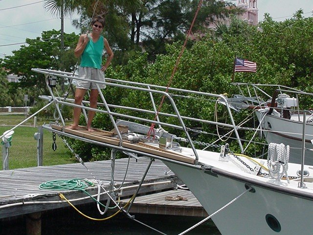 Bowsprit addition