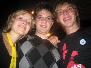 Octavi (kandidaat JV), Wilco (uittredend JV) en Jasper (i2i) aan het begin van een mooie samenwerking.