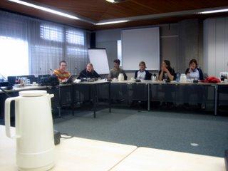 Presentatie van de uitdagingen aan BuZa.