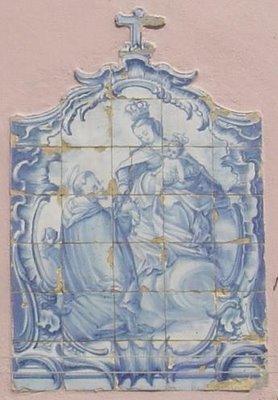 Setúbal: registo de azulejo. Foto do autor