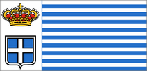 The Seborga Flag