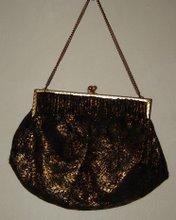 Guldsvart Vintage väska