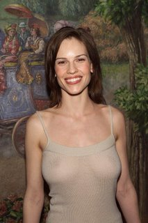 hilary swank see-through