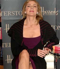 Kim Cattrall upskirt, panties