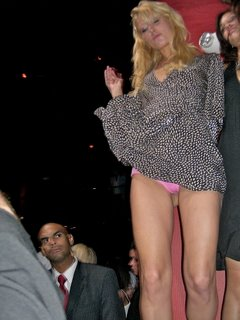 Paris Hilton's pink panties