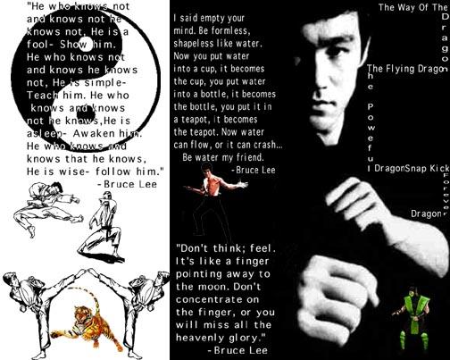Bruce Lee Philosophy Quotes Quotesgram